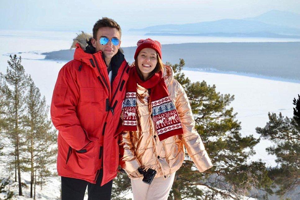 Влад Топалов и Регина Тодоренко на Байкале