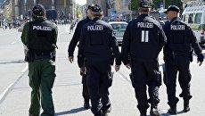 Сотрудники немецкой полиции. Архивное фото