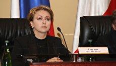 Министр занятости, труда и миграции Саратовской области Наталья Соколова
