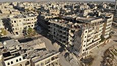 Панорама Идлиба, Сирия. Архивное фото