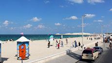 Пляж в Дубае. Архивное фото