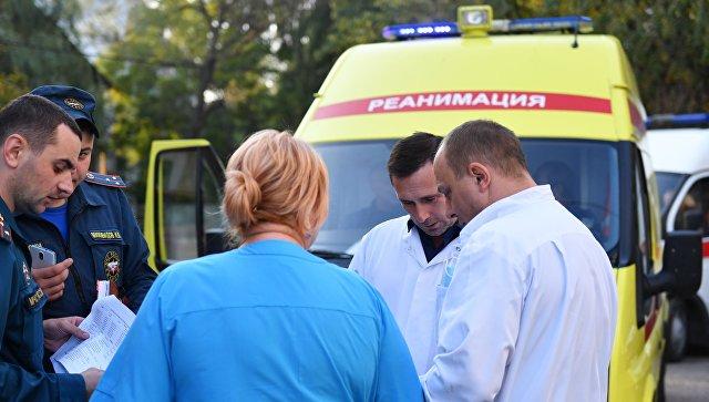Еще одного пострадавшего при нападении в Керчи госпитализировали
