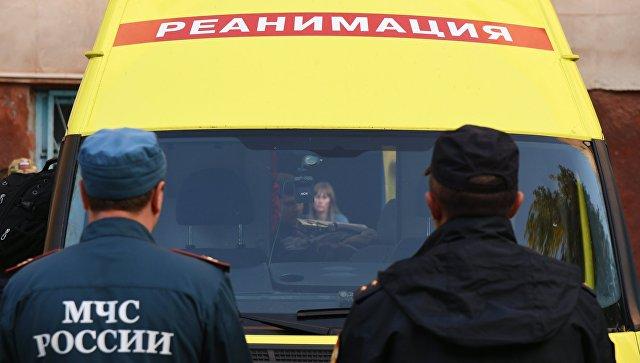 Самолет с семью раненными при стрельбе в Керчи вылетел в Москву