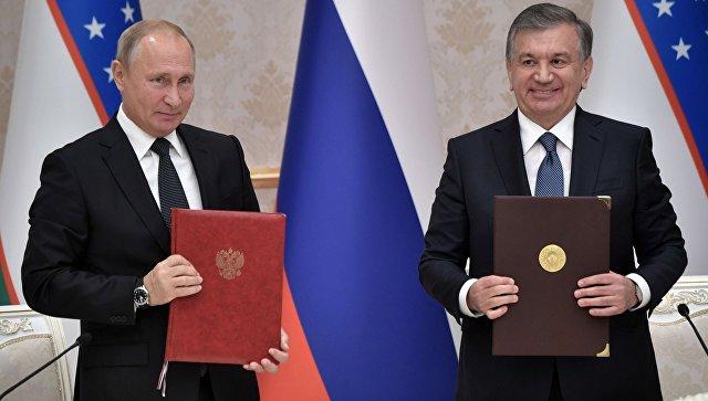 Мирзиеев предложил создавать совместные с Россией предприятия для экспорта