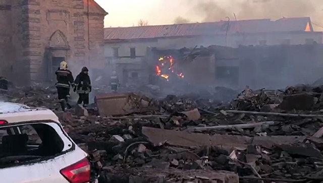 СК завел дело после взрыва на заводе пиротехники под Петербургом