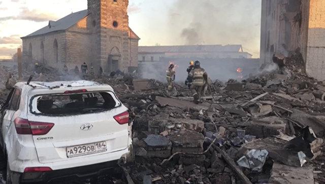 В МЧС рассказали, в какой части завода в Гатчине произошел взрыв