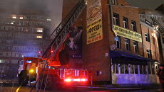 Спасатели ликвидировали пожар в развлекательном центре в Томске