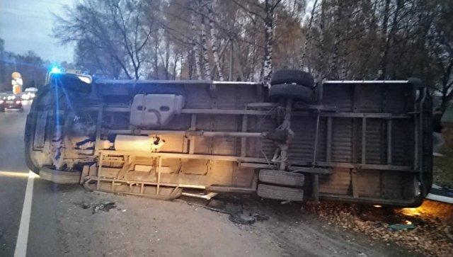 Ппострадавшие в ДТП с маршруткой в Подмосковье продолжают лечение