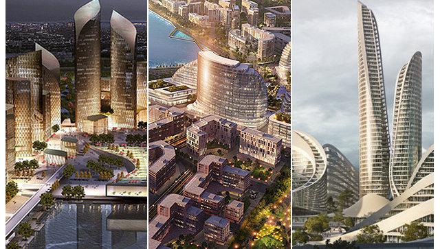 Проекты архитектурно-градостроительной концепции умного города Сбербанка в Рублево-Архангельском