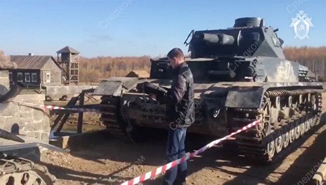 В Калужской области возбудили дело после наезда танка на каскадера