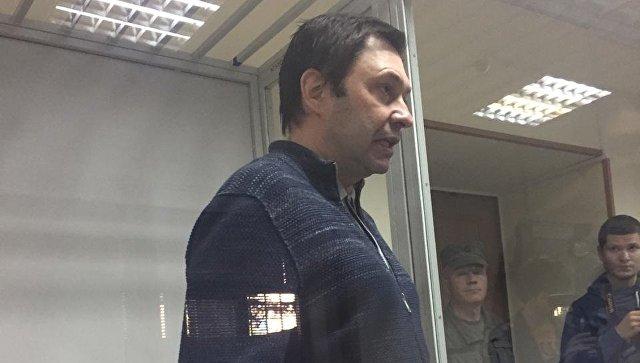 Суд вХерсоне оставил под арестом до4ноября корреспондента Вышинского