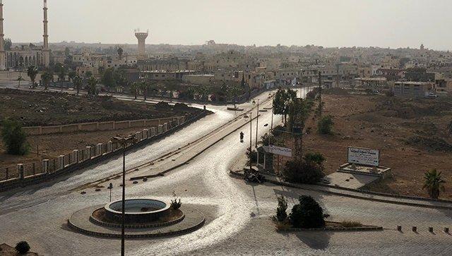 Город Босра в сирийской провинции Дераа. Архивное фото