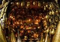 Лампы Аладдина в магазине на одной из улиц в городе Фес