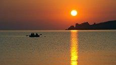Азовское побережье в Крыму. Архивное фото