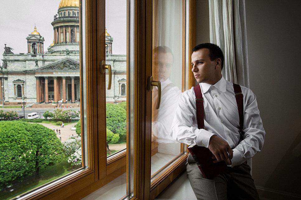Вид из номера гостиницы «Астория», Санкт-Петербург
