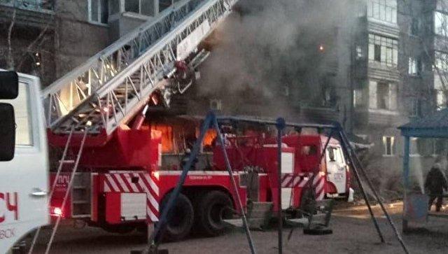 """В ЕАО обследуют """"Струной"""" дом после взрыва газа для выявления повреждений"""