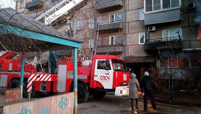 В ЕАО завели дело после взрыва газа в пятиэтажке