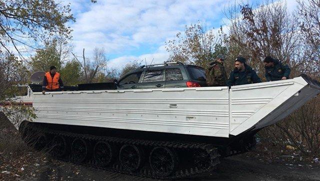 В Ростове завершили эвакуацию застрявших из-за затопления машин