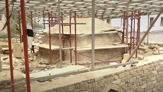 В Старом городе Баку археологи нашли баню XVII века