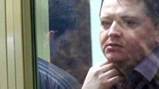 На скамье подсудимых Вячеслав Цеповяз в ходе слушания по делу банды Цапковские в Краснодарском краевом суде. 8 ноября 2018