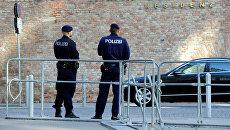 Полицейские в Вене. Архивное фото