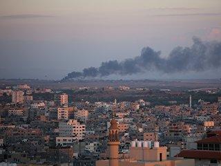 Ракетный удар Израиля по территории сектора Газа. Архивное фото