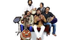 Индийский музыкальный коллектив Гамбхира