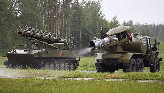 Специальная обработка техники при помощи ТМС-65У