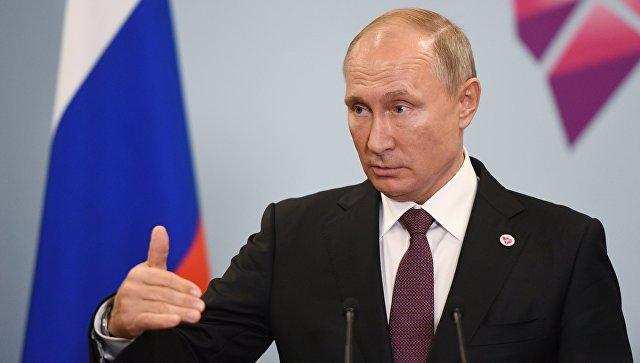 """""""Турецкий поток"""" не направлен против кого-либо, заявил Путин"""