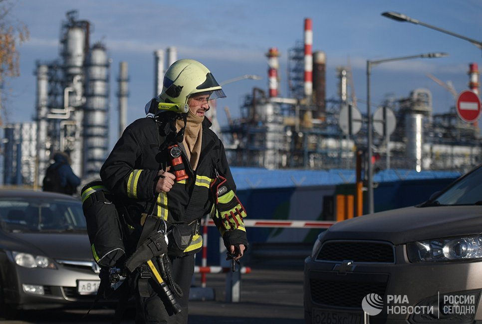 Пожар на Московском НПЗ не повлиял на объем переработки топлива
