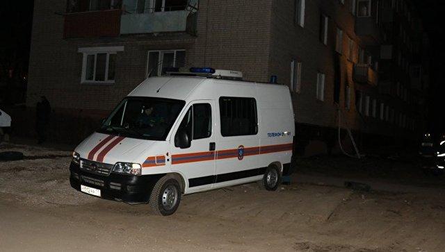 В Туле четыре ребенка погибли при пожаре в квартире