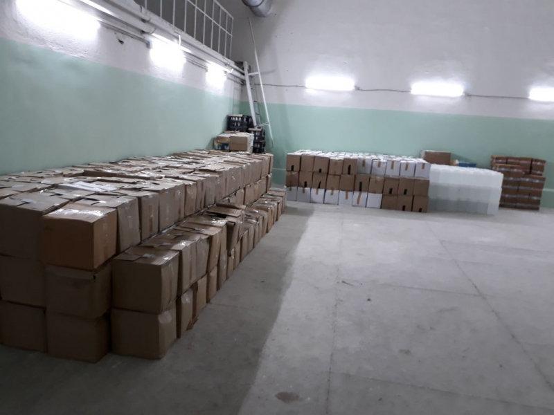 В Крыму изъяли крупную партию контрафактного спирта