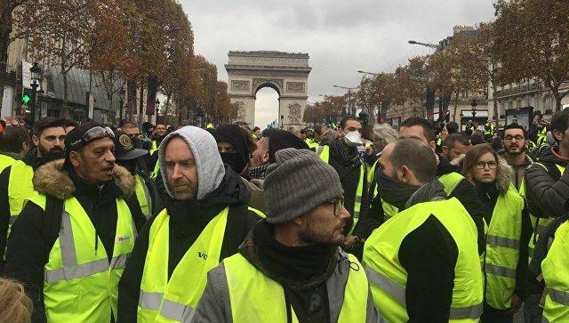 Руководитель МВД Франции объявил, что «желтые жилеты» напали наего дом