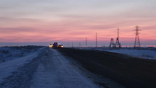 Троих пострадавших в ДТП с микроавтобусом авиацией перевезли в Норильск