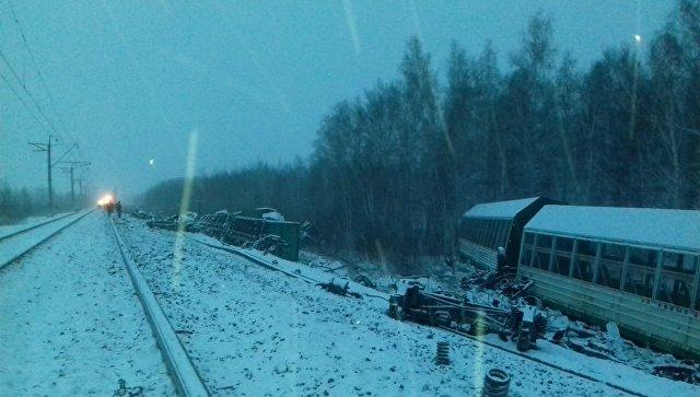 Из-за схода вагонов на Транссибе возможна задержка в движении поездов