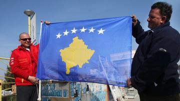 Столица Косово Приштина. Архивное фото