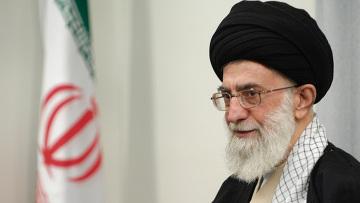 Духовный лидер Ирана аятолла Али Хаменеи. Архивное фото