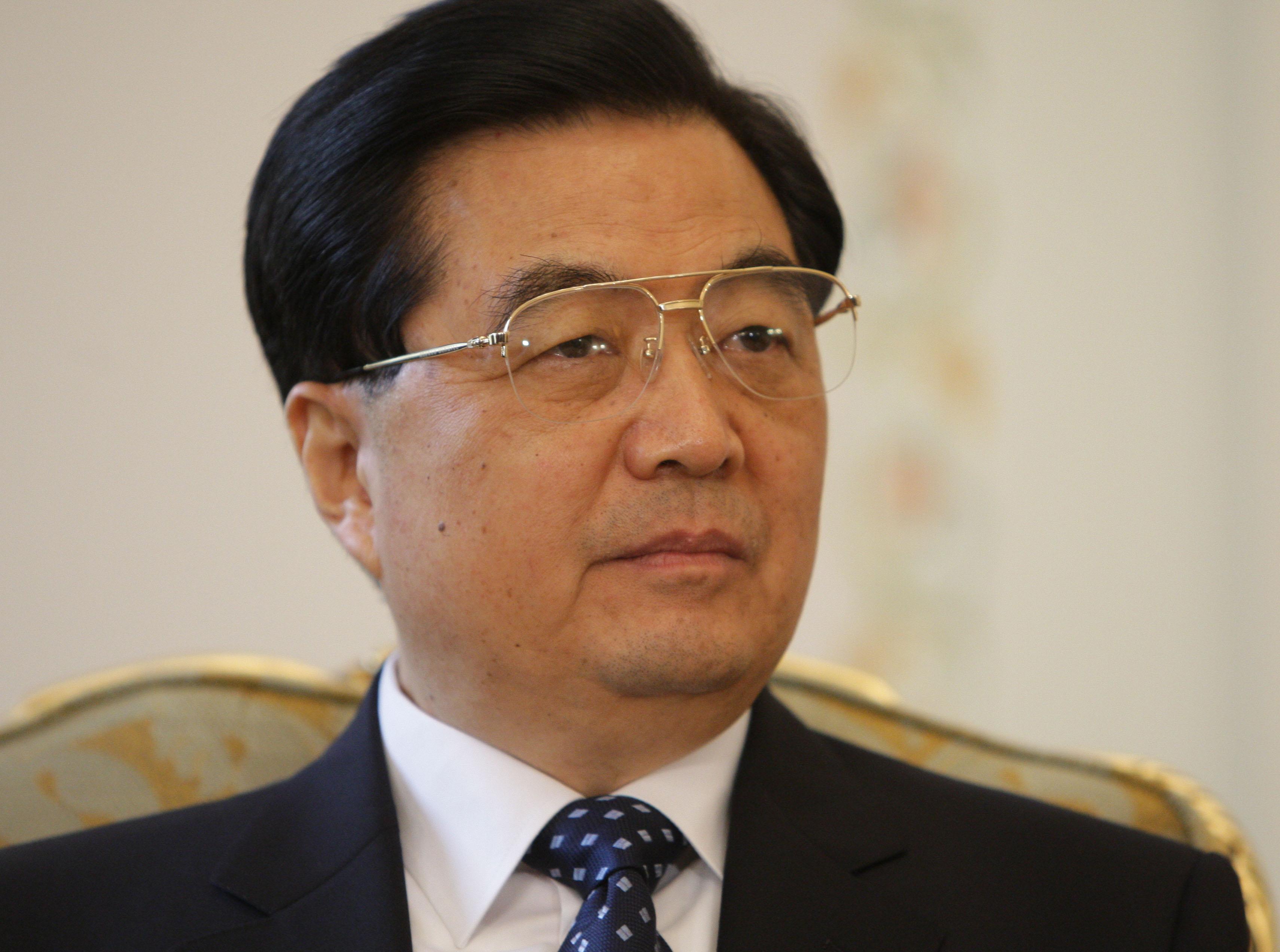 Председатель Китайской Народной Республики Ху Цзиньтао. Архив