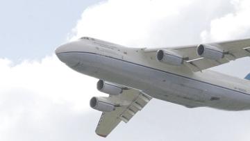 Грузовой самолет Ан-124. Архивное фото