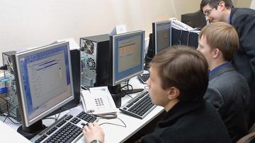 В зале управления ГАС Выборы в Центризбиркоме. Архивное фото
