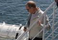 """В. Путин посетил научное судно """"Метрополь"""""""