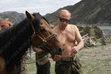 Тувинские каникулы Владимира Путина