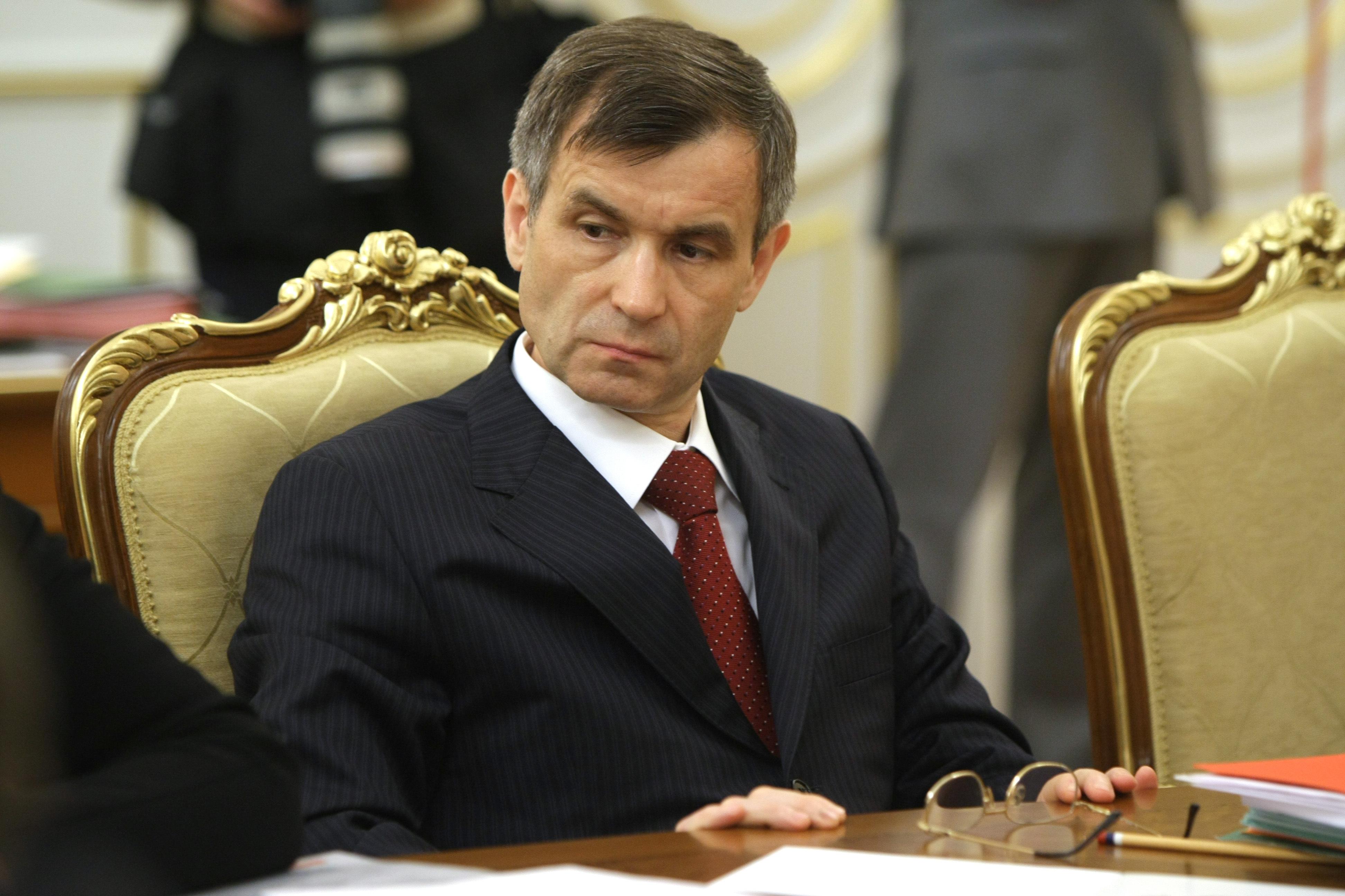 Глава МВД РФ Рашид Нургалиев