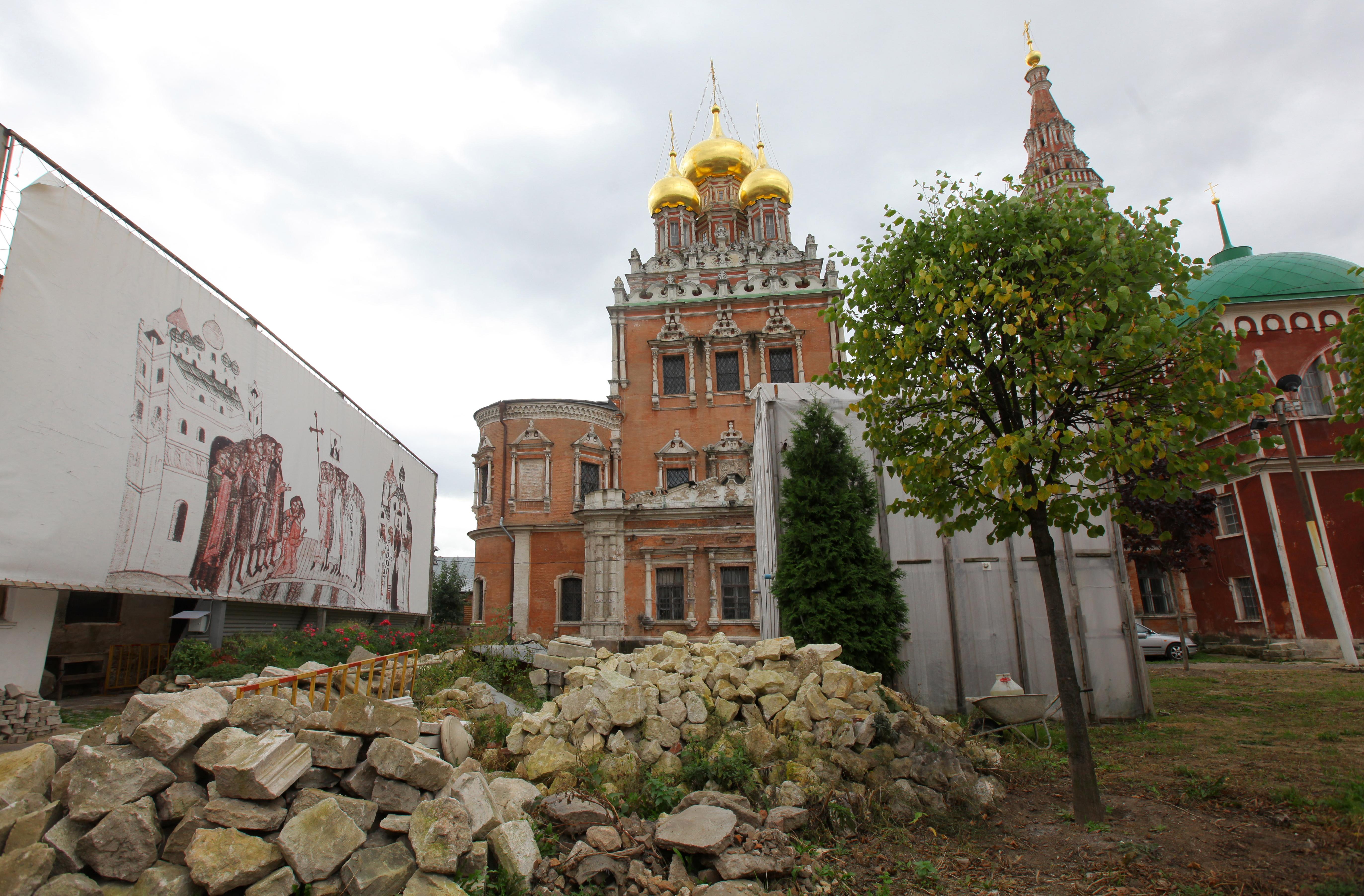 Церковь Воскресения Христова в Кадашах. Архив