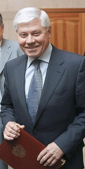 Председатель Верховного Суда РФ Вячеслав Лебедев, архивное фото