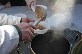 Военно-полевая кухня. Архивное фото
