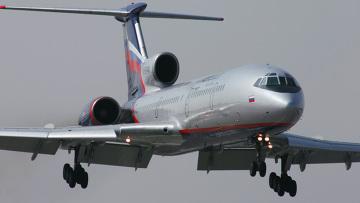 Самолет ТУ-154 М авиакомпании Аэрофлот