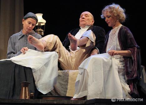 Предпремьерный показ спектакля Дядя Ваня в Театре им.Моссовета