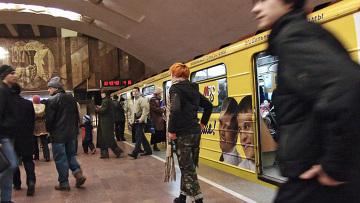 В Новосибирском метро