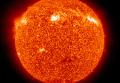 Изображение Солнца в ультрафиолетовом диапазоне